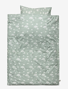Dandelion bed linen baby - MISTY GREEN