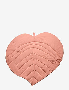 Leaf blanket - blankets & quilts - dream blush