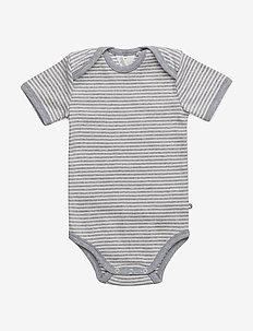 Stripe s/sl body - PALE GREYMARL