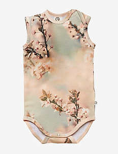 Sleeveless body - HUMMINGBIRD PRINT
