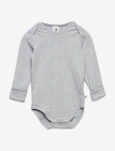 Cozy me l/sl body - PALE GREYMARL