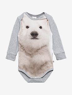 Spicy bear body - PALE GREYMARL