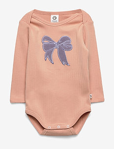 Cozy bow body - długie rękawy - dream blush