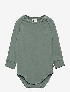 Cozy me body - lange mouwen - lagoon green