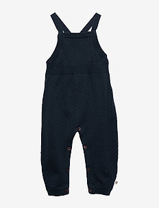 Knit dot romper - MIDNIGHT
