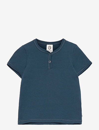 Cozy me neck s/s T baby - short-sleeved - midnight