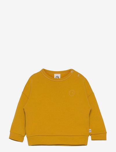 Sweatshirt baby - sweatshirts - mustard