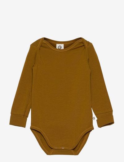 Cozy me l/sl body - long-sleeved - pesto