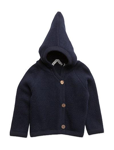Woolly fleece jacket - NAVY