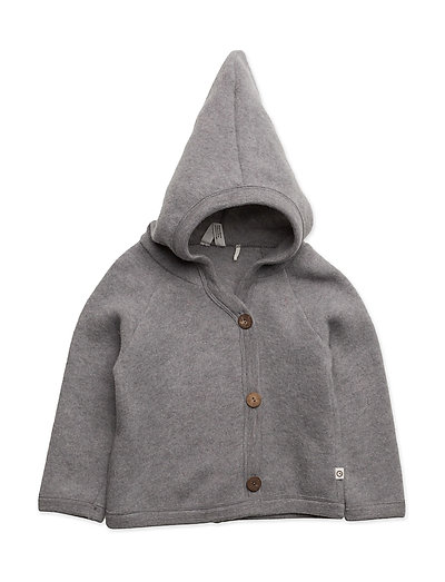 Woolly fleece jacket - PALE GREYMARL