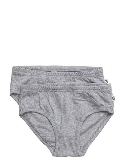 Cozy me underpants girl - PALE GREYMARL