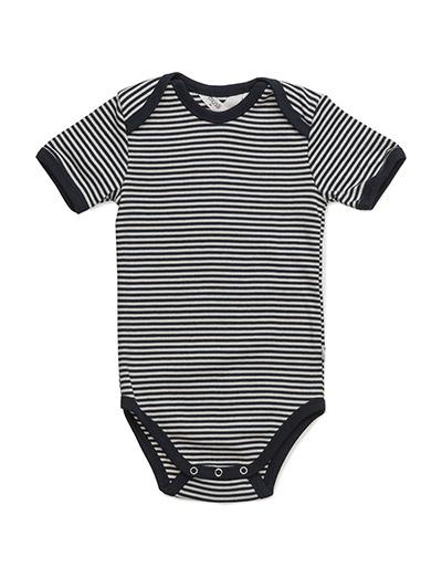 Stripe s/sl body - NAVY
