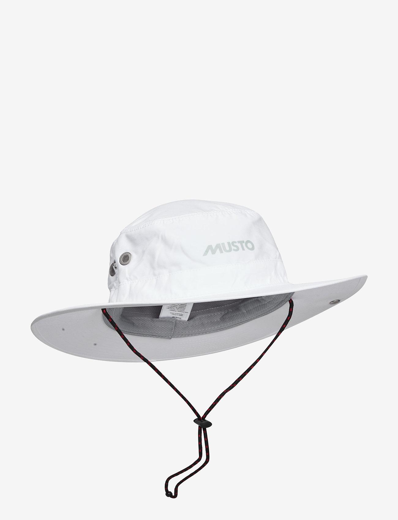 Musto - EVO FD BRIMMED HAT - bucket hats - white - 0