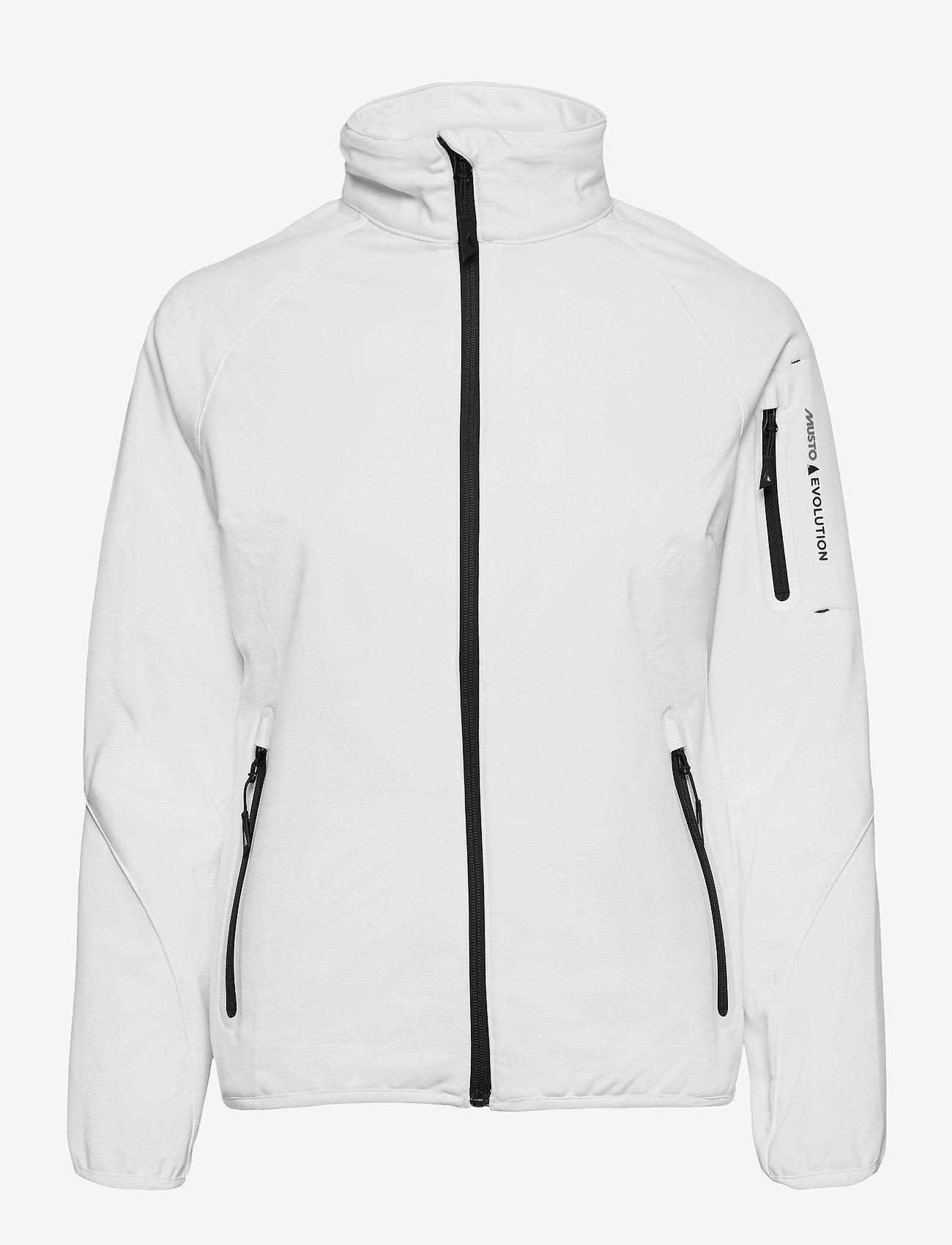 Musto - CREW SOFTSHELL JKT FW - sports jackets - white - 0