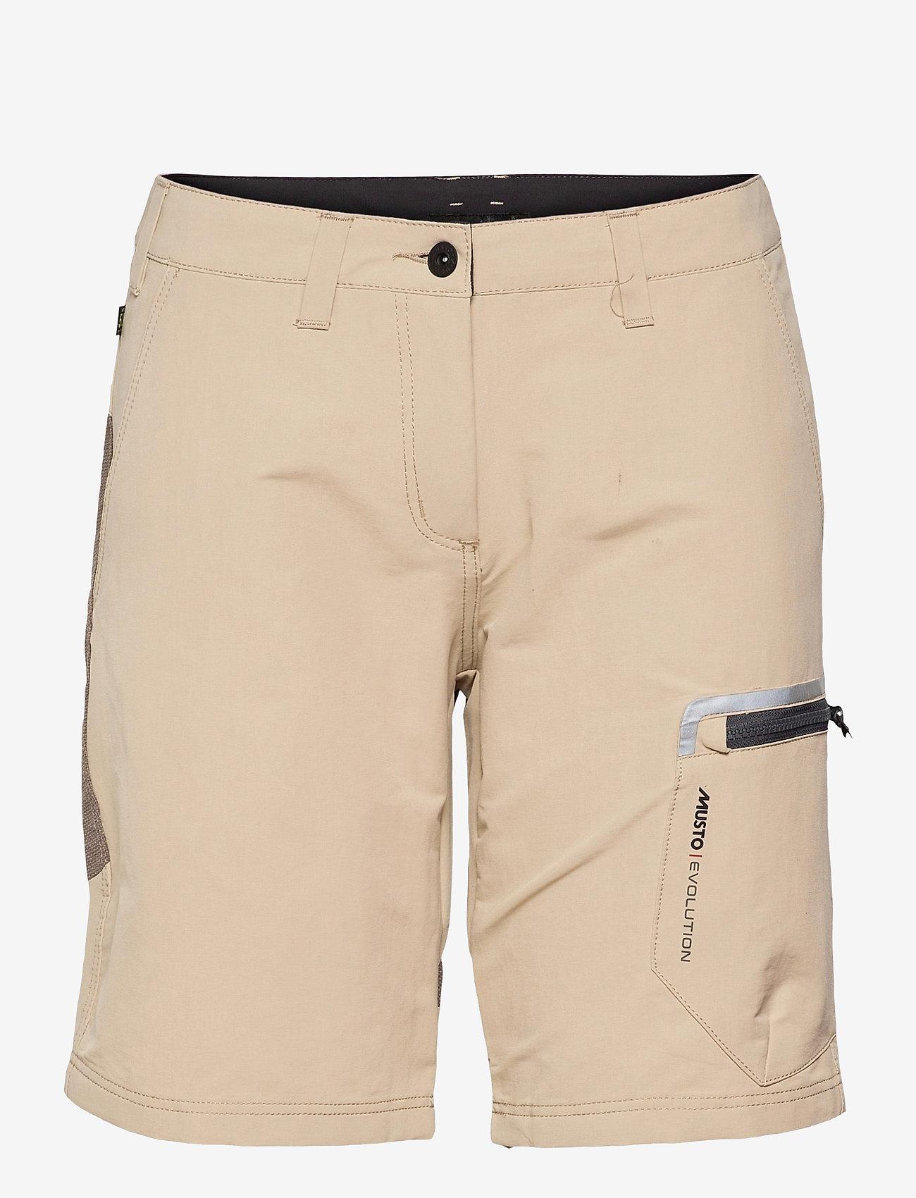Musto - EVO PERFORMANCE SHORT 2.0 FW - training shorts - light stone - 0
