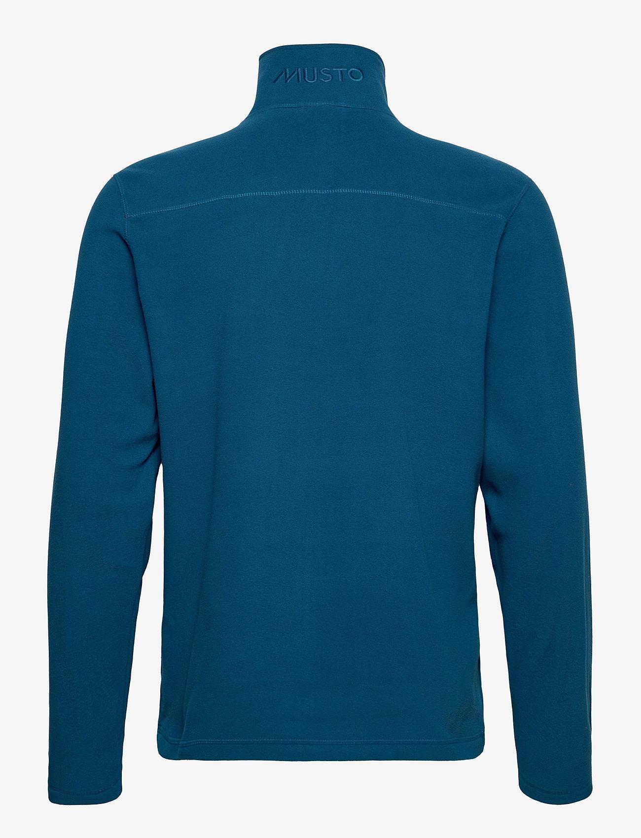 Musto - CORSICA 100GM FLEECE - mid layer jackets - deep sea - 1