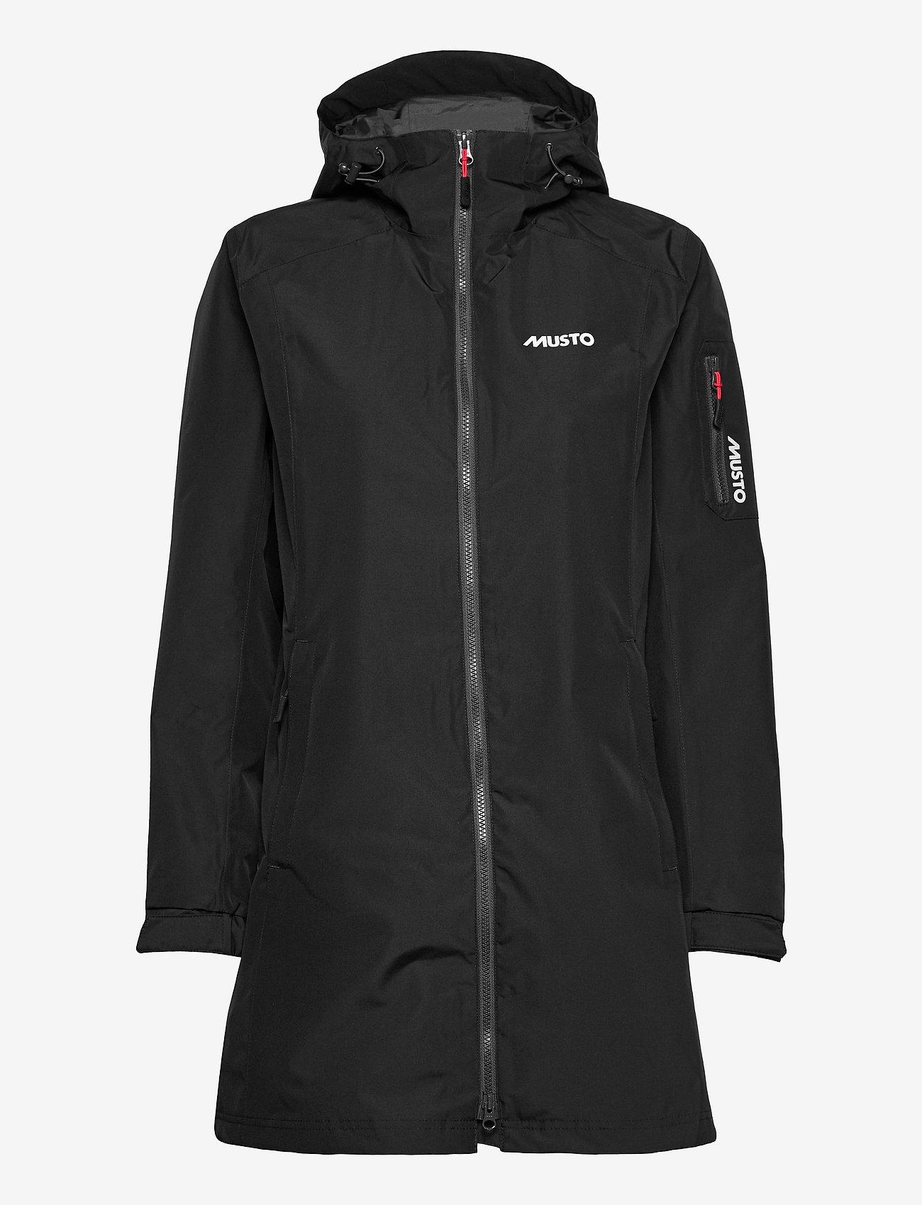 Musto - SARDINIA LONG RAIN JKT FW - rain coats - black - 0