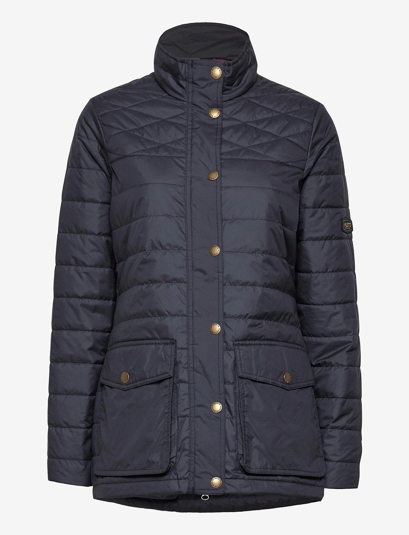 Musto - W EDINBURGH PL QUILTED JKT - sports jackets - 979 dark sapphire - 0