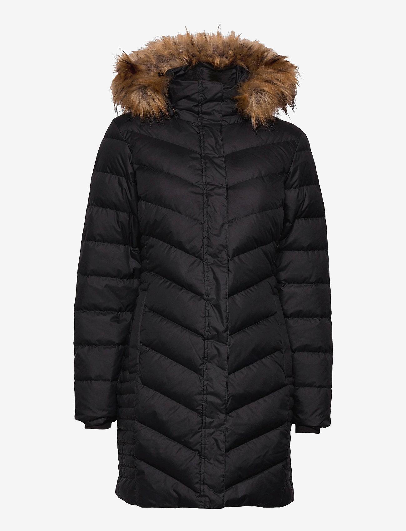 Musto - W EDINBURGH LONG DOWN JKT - sports jackets - true black - 0