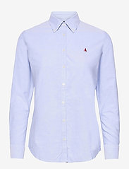 Musto - OXF LS SHIRT FW - long-sleeved shirts - 600 pale blue - 0