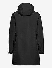 Musto - SARDINIA LONG RAIN JKT FW - rain coats - black - 1