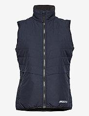 Musto - W CORSICA PL VEST - puffer vests - 598 true navy - 0