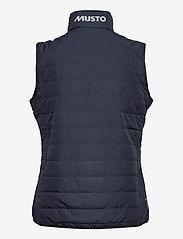 Musto - W CORSICA PL VEST - puffer vests - 598 true navy - 1