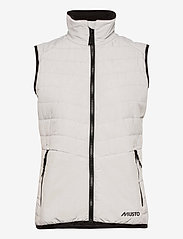Musto - W CORSICA PL VEST - puffer vests - 813 platinum - 0