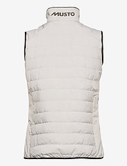 Musto - W CORSICA PL VEST - puffer vests - 813 platinum - 1