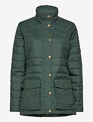 Musto - W EDINBURGH PL QUILTED JKT - sports jackets - 488 scarab green - 0
