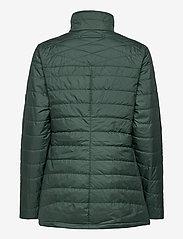 Musto - W EDINBURGH PL QUILTED JKT - sports jackets - 488 scarab green - 1