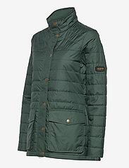 Musto - W EDINBURGH PL QUILTED JKT - sports jackets - 488 scarab green - 2