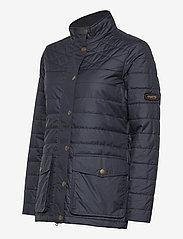 Musto - W EDINBURGH PL QUILTED JKT - sports jackets - 979 dark sapphire - 2