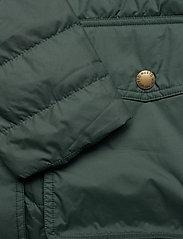 Musto - W EDINBURGH PL QUILTED JKT - sports jackets - 488 scarab green - 5