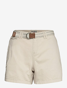 TACK COTTON SHORT FW - chino shorts - white sand