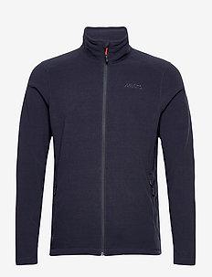 CORSICA 100GM FLEECE - mid layer jackets - 597 navy
