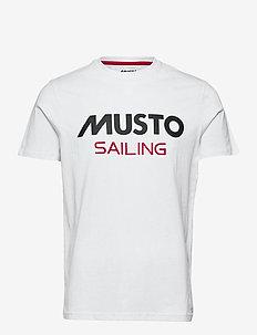 MUSTO TEE - t-shirts - 001 white