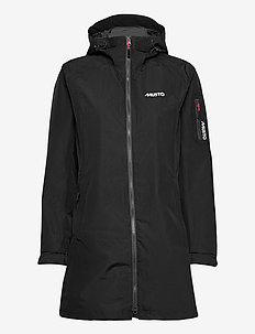 SARDINIA LONG RAIN JKT FW - rain coats - black