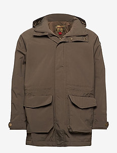 COUNTRY PL RAIN JKT - parkaser - rifle green