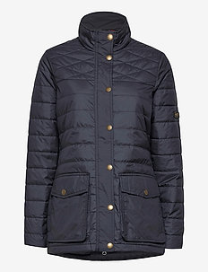 W EDINBURGH PL QUILTED JKT - sports jackets - 979 dark sapphire