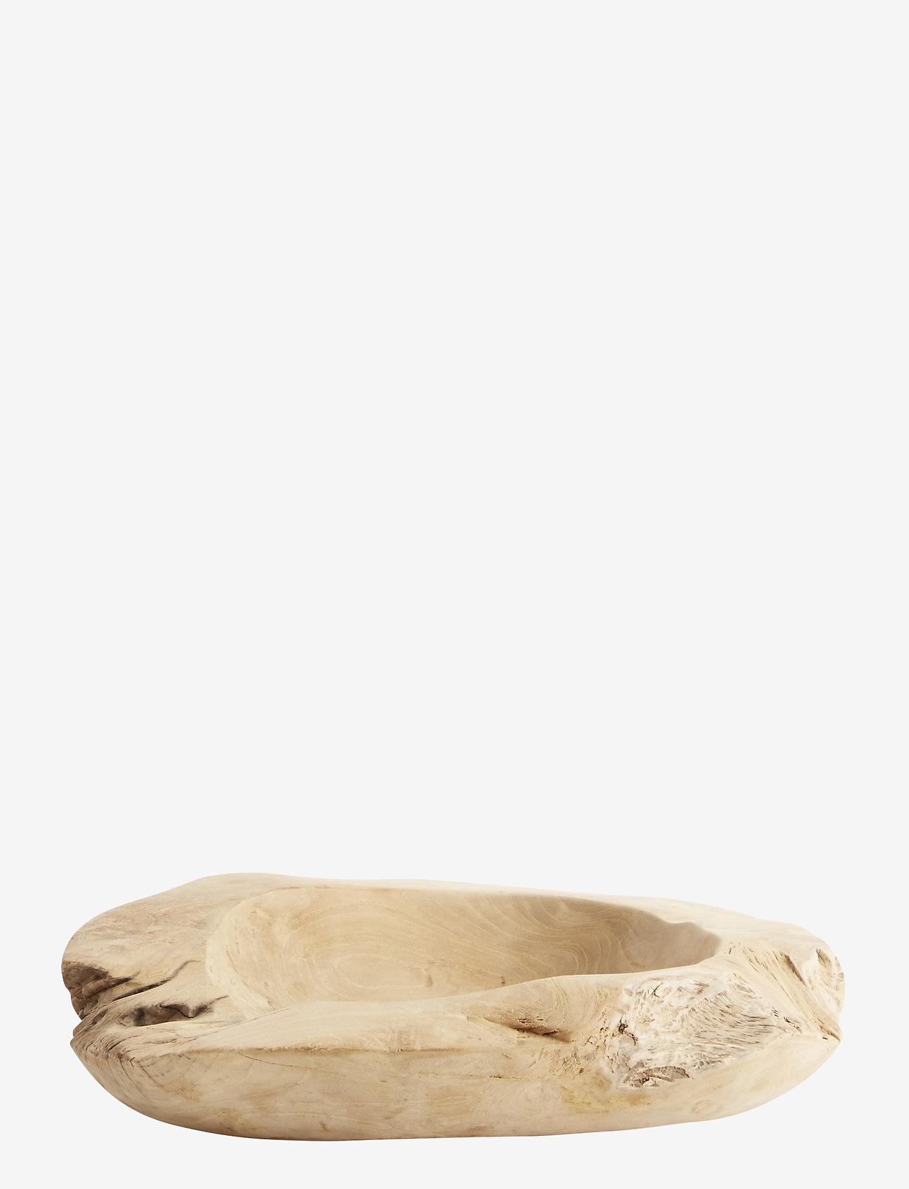 Muubs - Bowl Rustic 40 - kulhot & tarjoiluastiat - natur - 0