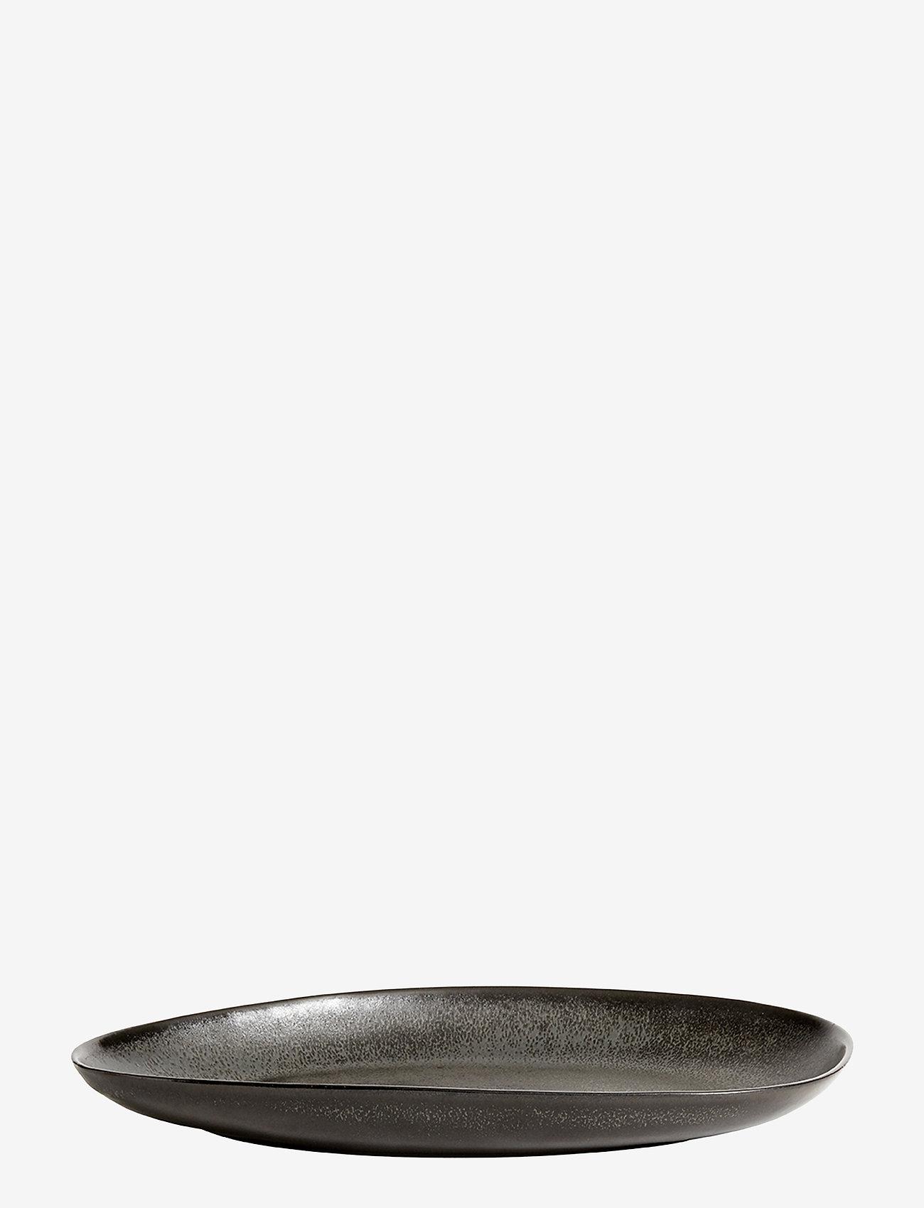 Muubs - Oval tray Mame M - serveringsfat - kaffe - 0