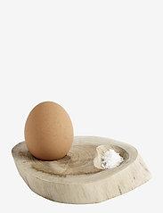 Muubs - Egg tray Organic S/4 - munakupit - natur - 0