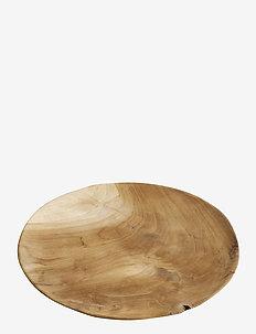 Plate Ø37_N - tarjoiluastiat ja -lautaset - natur