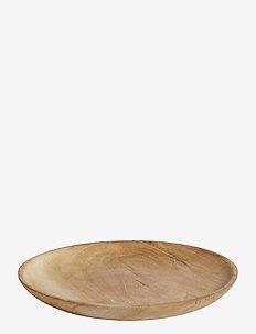 Plate Ø22 - leipälautaset - natur