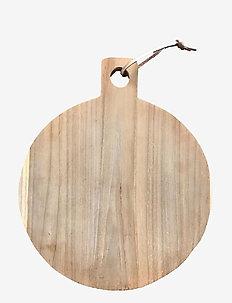 Cutting Board Mega Round - leikkuulaudat - natur