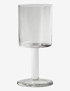 White wine glass Ripe - vinglass - klar