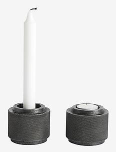 Tealight holder Moment - lyslykter - grey