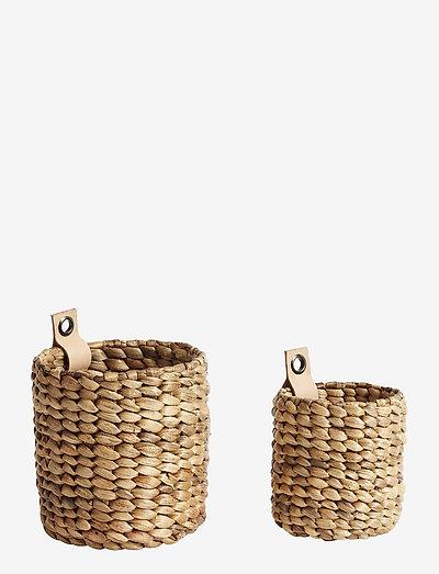 Basket Mini S/2 S + XS - säilytys - natur