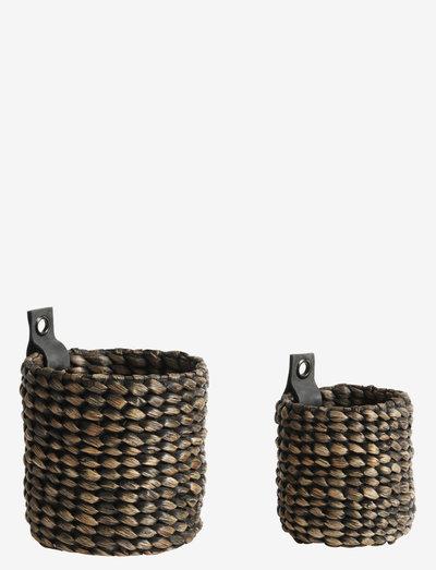 Basket Mini S/2 S + XS - säilytys - black